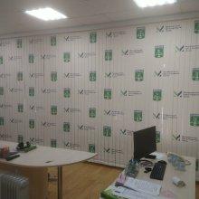 Администрация МО г. Усинск жалюзи вертикальные 6*3 метра с фотопечать