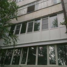 Усинск, монтаж лоджии 6-ть метров в полный рост ул Парковая д. 13а